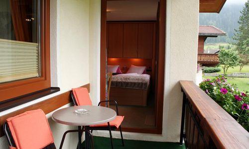 Balkon Appartement Edelweiss